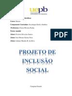 Projeto Inclusão Social