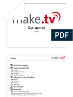 Technical guide for livestream with make.tv