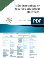 Formación Especialista en Recursos Educativos Holísticos 22-11