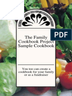 Family Cookbook Project Sample
