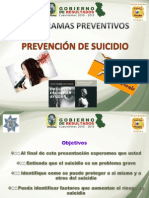 Prevencion de Suicidio Ppt