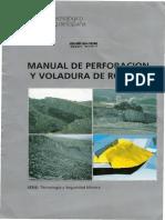 94714410 Manual de Perforacion y Voladura de Rocas