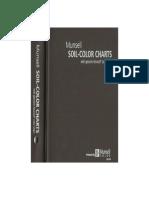 Carta de colores del suelo Munsell. Revision 2009