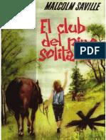 Saville, Malcolm - El Club Del Pino Solitario