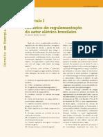 Regulação para concessão de serviços públicos