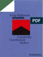 Baltrusch, Ernst - Sparta.beck.Wissen