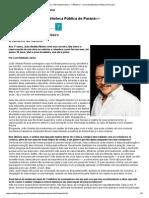 Entrevista_ João Ubaldo Ribeiro - CÂNDIDO - Jornal da Biblioteca Pública do Paraná