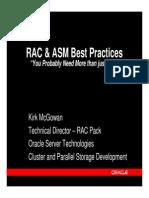RAC & ASM Best Practices[1]