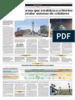 Antenas de celulares en Lima
