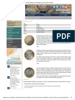 Moneda de 20 pesos conmemorativa, circulación, Banco de México