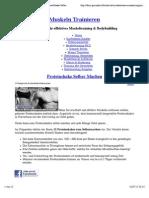 Proteinshake Selber Machen - 15 Rezepte Eiweißshake Selbermachen | Muskeln Trainieren
