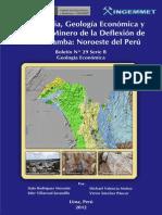 Metalogenia, Geologia Economica y Potencial Minero de la Deflexion de Huancabamba -Noroeste del Péru