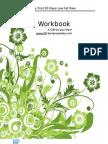 30 day challenge Workbook