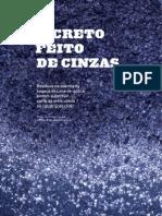 UNESP - defers - Concreto feito de Cinzas - resíduo da cana-de-açucar