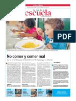 No Comer y Comer Mal.la Voz de La Escuela.16.10.2013
