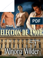 Winona Wilder - Serie Coming Out - 01 Eleccion de Amor