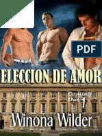 Winona Wilder - Serie Coming Out - 01 Eleccion de Amor
