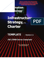 IT Infrastructure Strategy and Charter TOC