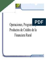 Operaciones, Programas y