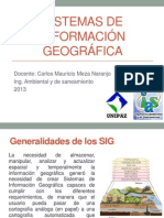 Generalidades SIG