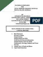 Social History-Nuts & Bolts (Holdman, Scharlette)(2001)