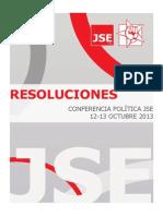 Resoluciones_JSE Conferencia Política