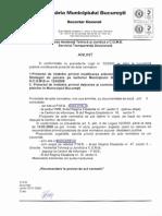 Hotarare Consiliu General al Municipiului Bucuresti privind detinerea si controlul reproductiei cainilor si pisicilor