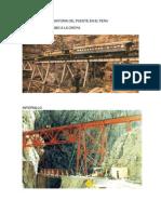 Historia Del Puente en El Peru