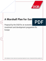A Marshall Plan for Europe