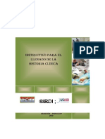 CONTENIDO Pa Llenar Historia Clinica