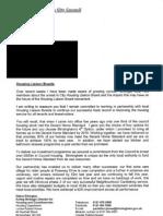 HLB Letter