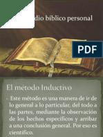 El Estudio Biblico Personal