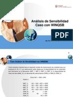 Caso Analisis de Sensibilidad WINQSB