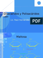 Disacaridos y Polisacaridos