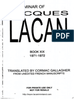 Lacan Book 19 Ou Pire or Worse