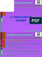 FORMACIÓN DE CLINKER