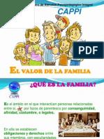 El Valor de La Familia. servicio del seguro social para las familias