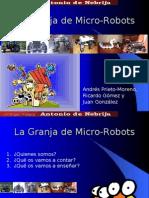 Granja de Micro-Robots. Nebrija Party 2007
