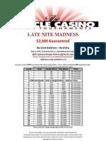 Late Night Madness Tournament