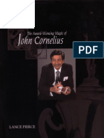The Award- Winning Magic of John Cornelius