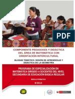 Sesión de aprendizaje y Didáctica de la Geometria - Huancayo.