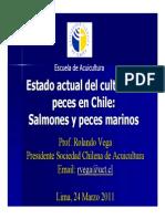 Cultivo de Peces en Chile 2011