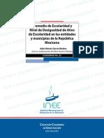 Garcia Medina - Desigualdad en la educación primaria y sus indicadores