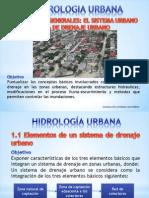 Presentación HIDROLOGIA URBANA