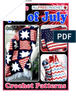 9 Free 4th of July Crochet Patterns eBook