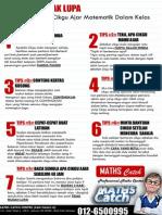7 Tips Tidak Lupa