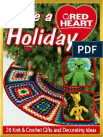Have a Red Heart Holiday 20 Knit Crochet Gifts and Decorating Ideas eBook From Red Heart Yarns