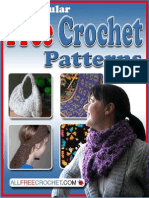 How to Crochet From AllFreeCrochet Free Easy Crochet Patterns 17 Popular Free Crochet Patterns eBook