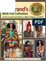 Lion Brands New Fall Collection 15 Free Crochet Scarf Patterns Afghan Patterns and More Free eBook
