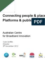 """Colin Griffith ACBI """"Platforms and Publics"""" CoCreative Communities forum"""